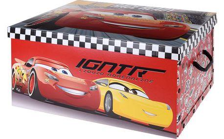 Kontejner na hračky - taburet, sedátko CAR Storagesolutions