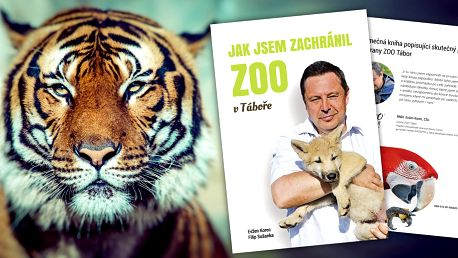 Kniha E. Korce: Jak jsem zachránil ZOO v Táboře