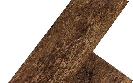 STILISTA 32553 Vinylová podlaha 5,07 m2 - ořešák tmavý