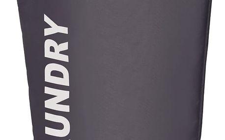 Koš na prádlo LUMO GREY, kontejner 65 l, WENKO