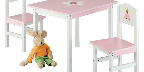 Dětský stolek PRINCESS + 2 židličky, ZELLER2