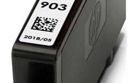 Inkoustová náplň HP 903, 315 stran - azurová (T6L87AE)