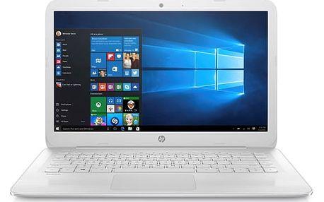 Notebook HP Stream 14-ax006nc (2EQ54EA#BCM) bílý Software F-Secure SAFE, 3 zařízení / 6 měsíců v hodnotě 979 Kč