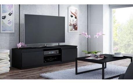 TV stolek LCD 120 cm černý