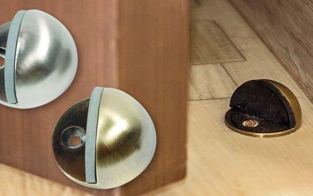 Kulatá dveřní zarážka do podlahy
