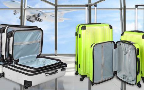 Sada tří lehkých cestovních kufrů Malatec