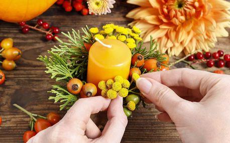 Workshop kreativní podzimní dekorace