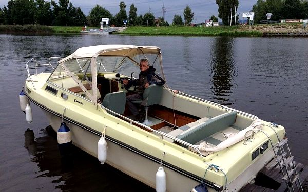 Lipno motorovým člunem5
