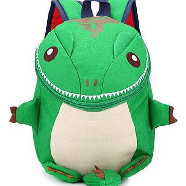Dětský batůžek se žralokem, dinosaurem nebo chameleonem2