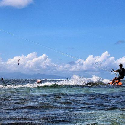 Letní outdoorový kurz kitesurfingu