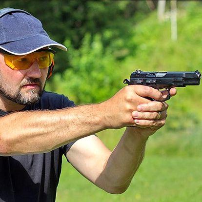 Baby day zážitek, střílení na střelnici, akční střelba. 10 fotografií a krátké video, bonus diplom.