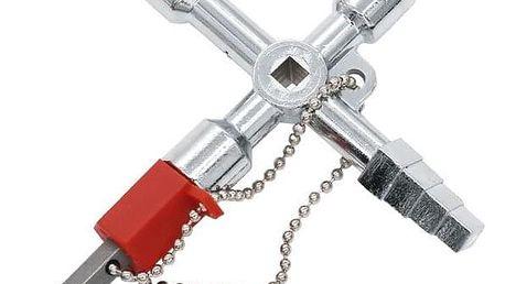 Univerzální křížový klíč k rozvodným skříním - dodání do 2 dnů