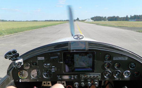 Pilotem na zkoušku: 20–60minutový zážitkový let v dvoumístném ultralightu2