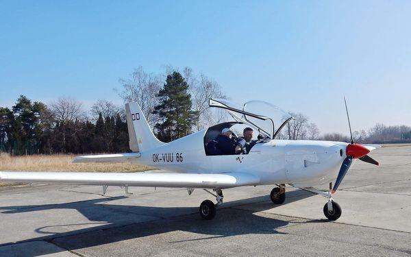 Pilotem na zkoušku: 20–60minutový zážitkový let v dvoumístném ultralightu3