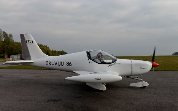 Pilotem na zkoušku: 20–60minutový zážitkový let v dvoumístném ultralightu4