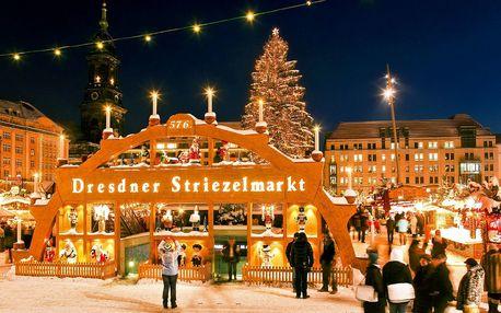Adventní Drážďany: trhy, nákupy i památky