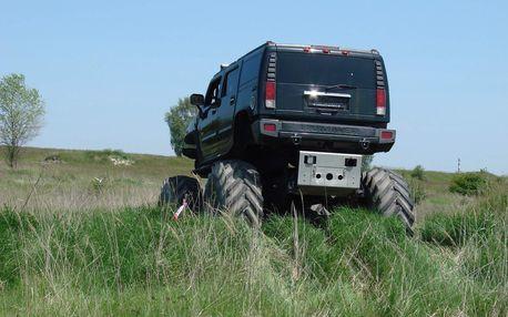 25 minut jízdy v Hummer Monster Trucku na tankodromu Milovice