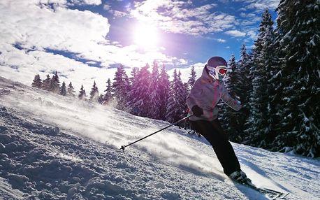 1denní lyžování v rakouském středisku Hochficht