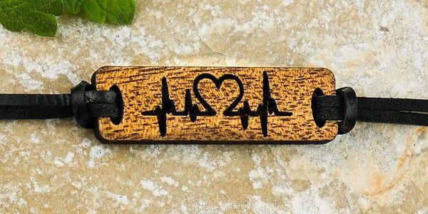 Pro vás i vaši polovičku: dřevěné náramky s nápisy a obrázky pro zamilované4