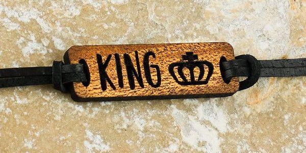 Pro vás i vaši polovičku: dřevěné náramky s nápisy a obrázky pro zamilované5