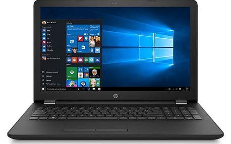 Notebook HP 15-bs150nc (3XY13EA#BCM) černý