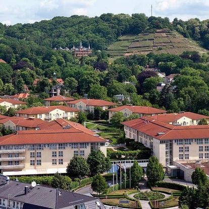 Moderní hotelový resort s rozsáhlou wellness zónou