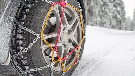 Rychloupínací sněhové řetězy bez potřeby najíždění