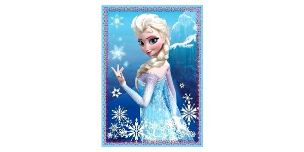 Trefl 4v1 Ledové království/Disney 35 48 54 70 dílků5