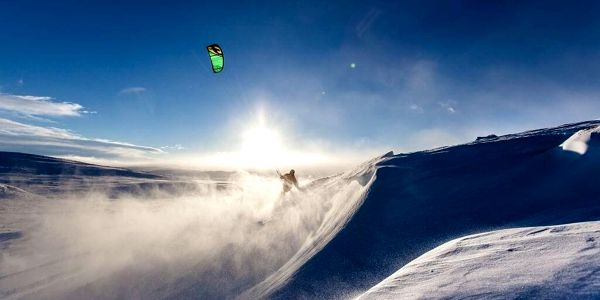 Základní kurz snowkitingu2