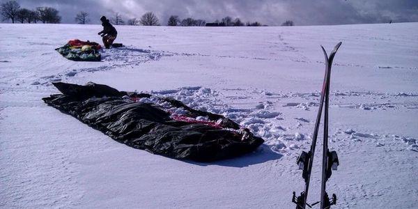 Základní kurz snowkitingu3