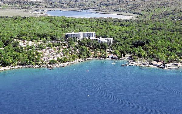 Chorvatsko - Krk na 5 až 6 dní, polopenze nebo snídaně s dopravou vlastní, 50 m od pláže, 500 m do centra2