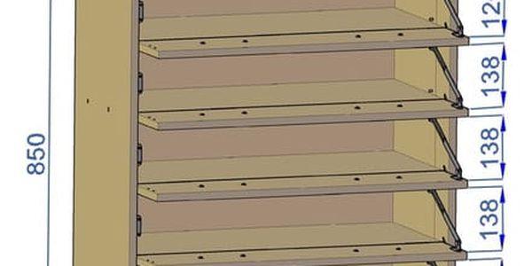 Botník JULIA K5 Wenge2