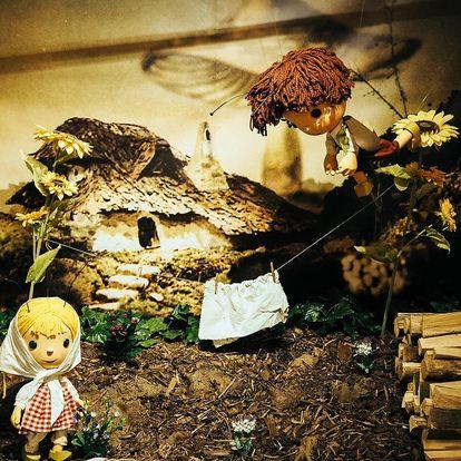 Vstupenka na výstavu Broučci v areálu Ctěnice