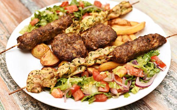 Pestré dvouchodové řecké menu pro 2: předkrmy, 3 druhy masa a přílohy3