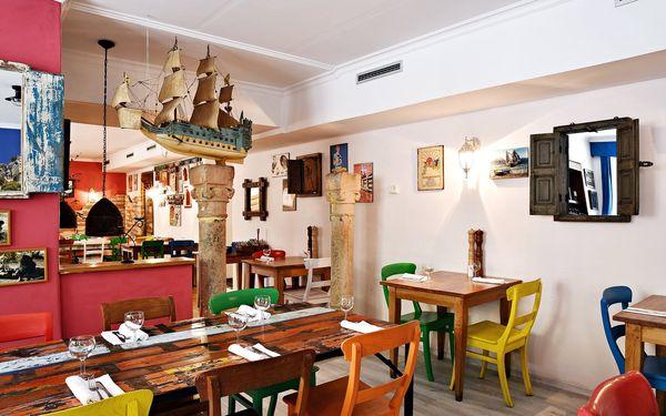 Pestré dvouchodové řecké menu pro 2: předkrmy, 3 druhy masa a přílohy5