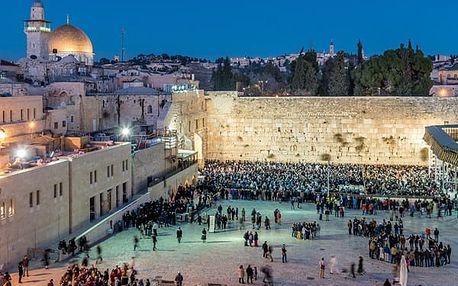 Prodloužený víkend v Jeruzalémě, Izrael, letecky, polopenze