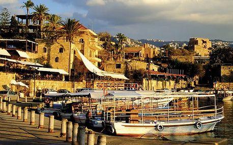 Za historií a přírodou Libanonu, Asie, Libanon, letecky, polopenze