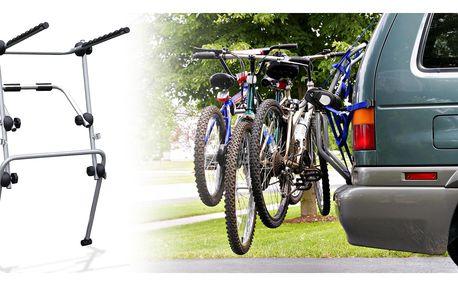 Držák na kola nebo teleskopická mřížka do auta
