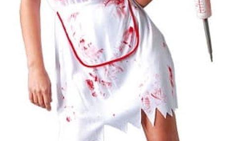 Kostým zdravotní sestra - ZOMBIE
