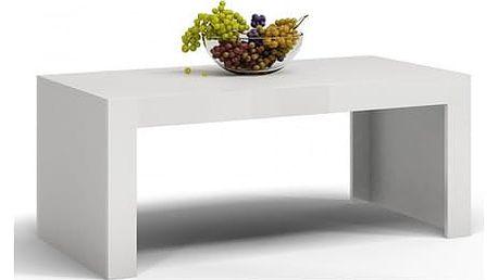 Konferenční stolek DEKO D1 bílá lesk