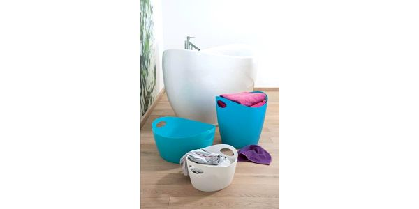 škopek do koupelny BOTTICHELLI,velikost M - barva bílá, KOZIOL5