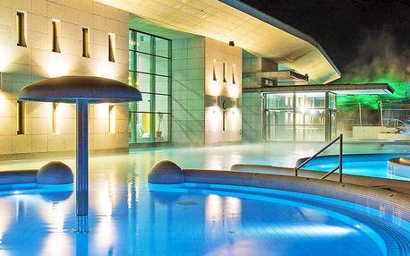 Lázně Egerszalók nedaleko Egeru v krásném 4* hotelu s neomezeným vstupem do termálů, fitness a polopenzí