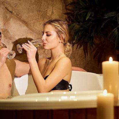 Privátní wellness pro 2 v centru Prahy v hotelu Sonáta****