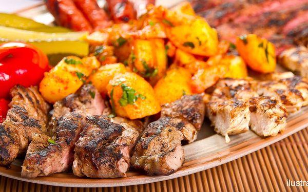 Mix grilovaných mas pro dvojici i rodinu