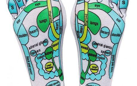 Masážní ponožky, M (36 - 39), 36 - 39