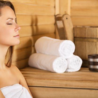 2hodinová relaxace: vstup do wellness centra