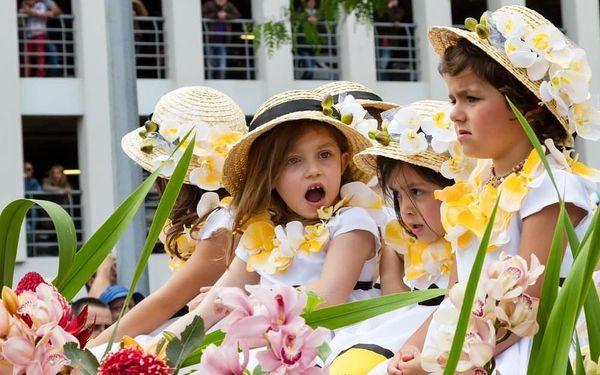 Květinové slavnosti na Madeiře, letecky, snídaně v ceně2