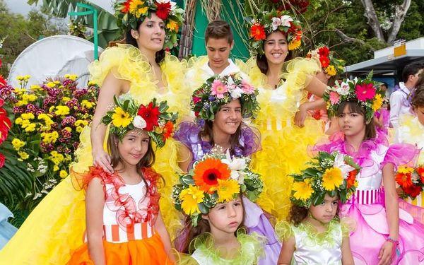 Květinové slavnosti na Madeiře, letecky, snídaně v ceně4