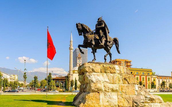 Krásy Albánie, letecky, polopenze2