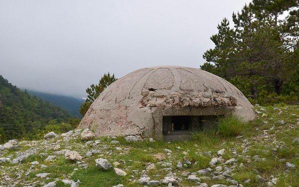 Krásy Albánie, letecky, polopenze5